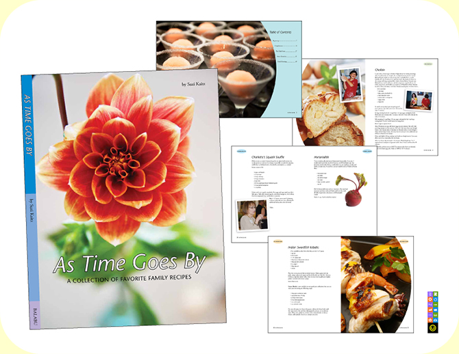 As Time Goes By Cookbook